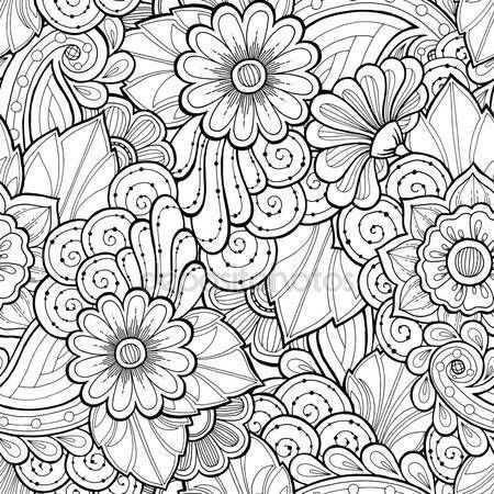 Downloaden Doodle Naadloze Achtergrond In Vector Met Doodles
